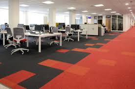 carpet tiles office. Up \u0026 Balance Grayscale Carpet Tiles At Virgin Trains Head Office