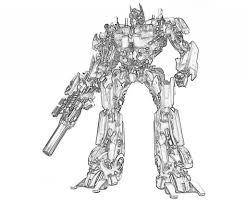 Optimus Prime Coloring Pages Coloringsuitecom