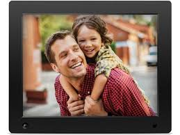 nix advance x12d 12 inch digital photo frame with motion sensor 8gb memory