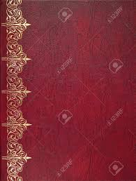 red leather book cover stock photo 25108553