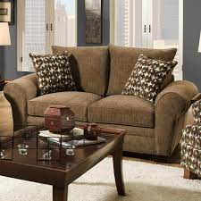 Traditional Living Room Furniture Stores Traditional Styled Loveseat With Comfortable Look For Casual