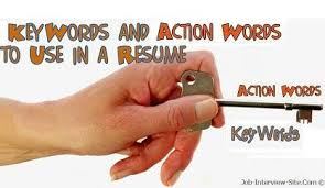 Using Action Verbs Keywords Ideas Collection Good Verbs For Resume