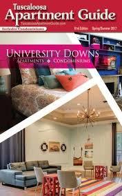 1 Bedroom Apartments Tuscaloosa Al Tuscaloosa Apartment Guide By Jim  Andrews Issuu