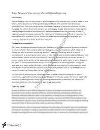 economics essay microeconomic reform year hsc economics  economics essay microeconomic reform