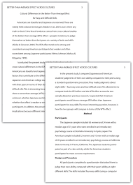 apa example essay writing a research report in american view larger gallery for apa format sample essay paper