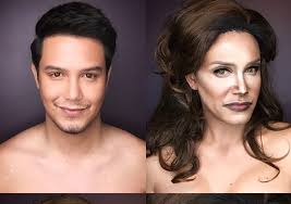 makeup artist paolo ballesteros transforms into caitlyn and kris jenner pics extratv