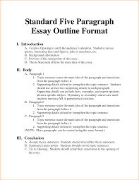 format of a paragraph essay example of first page mla format  3 format of a 5 paragraph essay