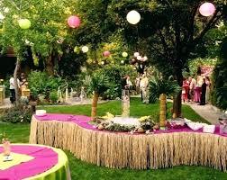 backyard party decorating ideas decorations outdoor pergola birthday backyard party decorating