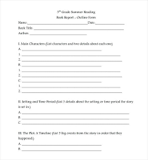book report template sample book report template documents  book report template book report template book review sample pdf