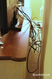 How To Hide Tv How To Hide Cords On Desktop Best Home Furniture Decoration