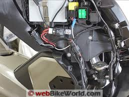 denali dm1 micro lights review webbikeworld denali dm1 micro lights wiring harness installed