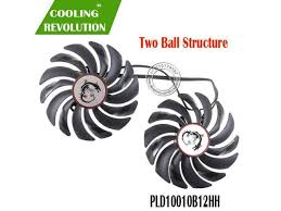 <b>2pcs</b>/<b>lot video cards cooler</b> FOR MSI GTX 1080/1070/1060 fan For ...