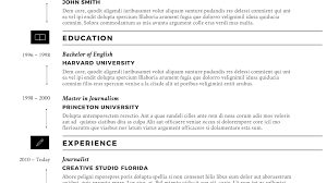Lyx Resume Template Download Linkvnet