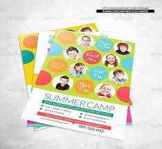 Summer Camp Flyer Template Beautiful Summer Camp Template Banner Or