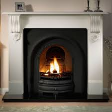 superb deals gallery kingston stone fireplace includes lytton cast iron arch fast delivery