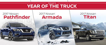 Nissan's Year of the Truck: 2017 Nissan Pathfinder vs 2017 Armada ...