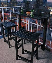 outdoor furniture small balcony. Black Outdoor Balcony Bar Set | Zulily Furniture Small