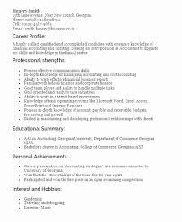 Resume Profile Samples Stunning Resume Profile Summary Samples Awesome How To Write A Cv Career