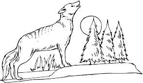 Small Picture Coyote Coloring Pages easterbunzcom
