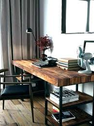 reclaimed office desk. Reclaimed Wood Office Desk Top Furniture Rustic . L