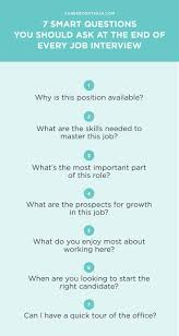7 Smart Questions You Should Ask At The End Of Every Job Interview