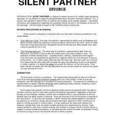 Template For Business Partnership Agreement Best Partnership ...