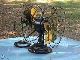 antique desk fan darryl hudson antique and vintage electric fan collecting