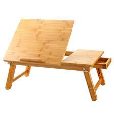 laptop desk nnewvante table adjule 100 bamboo co uk electronics