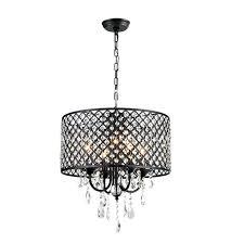 art deco lighting fixtures for hot black luxury crystal chandelier dining room bedroom hanging lights