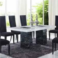 italian marble dining room set