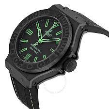 hublot big bang all black green men s watch 322 ci 1190 gr abg11 hublot big bang all black green men s watch 322 ci 1190 gr