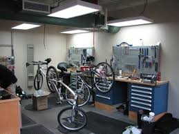 Bicycle Garage Indy Downtown provides bicycle repair and service with two  complete service bays. Along