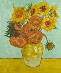 vincent van gogh sunflowers oil painting cm 50x60 cp017