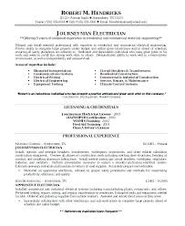 Sample Resume For Electrical Technician Impressive Electrical Maintenance Resume Electrical Maintenance Engineer Sample