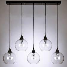 pendant lighting kitchen 5. Amazing Of Clear Glass Pendant Lights In Lighting Decor 5 Kitchen E