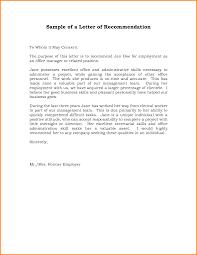 Employer Recommendation Letter Sample Job Recommendation Letter Sample Template Kadil