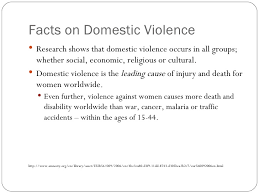 physical violence against women  4 facts on domestic violence