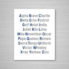 It was devised by the international phonetic association as a standardized representation of the sounds of spoken language. Phonetic Alphabet Printable Art Navy Gray Aeronautical Etsy