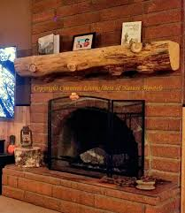 rustic wood fireplace mantel ca chad