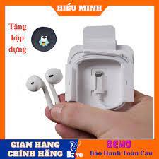 Tai nghe iphone chính hãng cổng lightning, dùng cho iphone 8plus Xs Max 11  11pro Pro max, 12 pro max tại Hà Nội