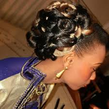 Coiffure Africaine Pour Mariage Wizzyjessicafarah Blog