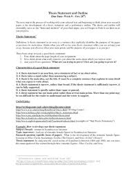 an example of a thesis statement in an essay argumentative thesis  an