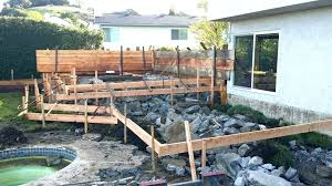 raised concrete deck raised concrete patio raise stamp concrete patio raised concrete porch raised concrete diy