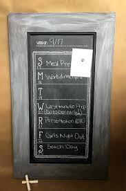 framed chalkboard calendar framed chalkboard calendar weekly wall calendar weekly schedule magnetic chalkboard weekly chalkboard planner