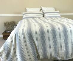 grey striped duvet cover gray dark white