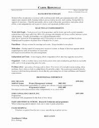 Medical Secretary Resume Template Inspirational Medical Secretary