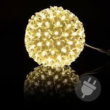 100er Led Lichterball Warm Weiß ø 15 Cm Lichterkugel