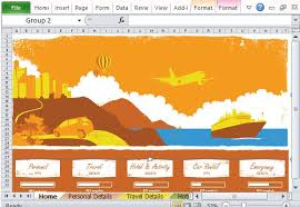 Free Travel Planner Free Vacation Planner Excel Template