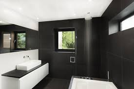 Black And White Bathroom Designs Impressive Decoration