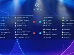 The draw included some teams taking part in the second qualifying round on 20/21. Champions League Draw Liverpool Drawn With Napoli Spurs Face Bayern Champions League The Guardian
